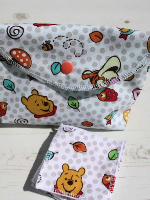 Pooh Bear Make Up Bag and Wipes