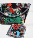 Hulk and Avengers Make Up Bag and Wipes