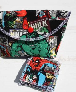 Hulk and Avengers Make Up Bag and Wipes