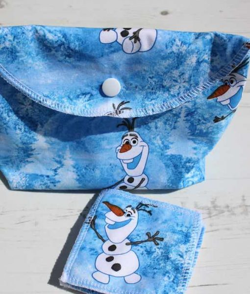 Olaf Make Up Bag and Wipes