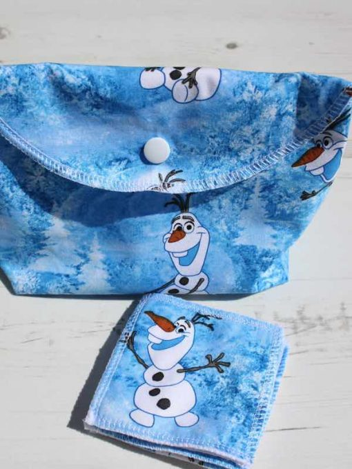 Olaf Make Up Bag and Wipes