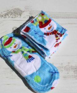 Snowman Plush Gift Set