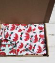 Christmas Pudding Cotton Gift Box