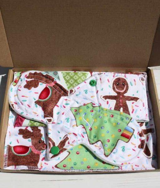 Gingerbread Man Cotton Gift Box