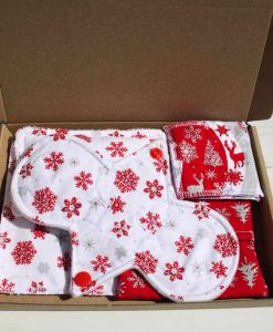 Snowflake Cotton Gift Box