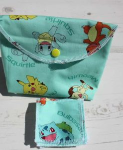 Squirtle Make Up Bag and Wipes