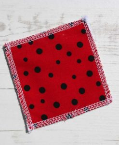 Lady Bug Shell Make-up remover wipes – set of 5