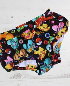 Pokemon Black Boy Shorts