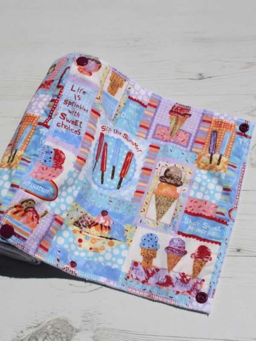 Ice Cream – Reusable Kitchen Towel – Set of 8