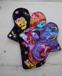 "Cloth Pad Starter Set - 8"" Light flow 