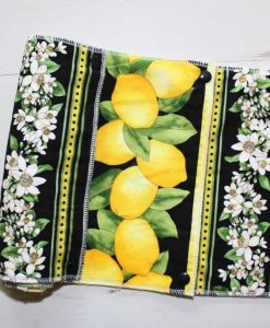 Lemon Grove – Reusable Kitchen Towel – Half-sheets – Set of 7