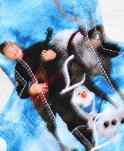"8"" Slim Sub Liner cloth pad | Sven Olaf and Christophe Cotton | Blue Wind Pro Fleece"