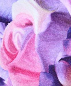 10″ Light Flow cloth pad | Lilac Roses Cotton Jersey | Lilac Polar Fleece | Standard 2