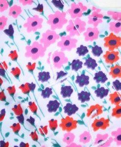 10″ Liner cloth pad   Flower Garden Cotton   Aqua Polar Fleece   Luna Landings   Sub 2