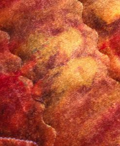 12″ Regular Flow cloth pad   Bronze Tie Dye Bamboo Velour   Blue Polar Fleece   2