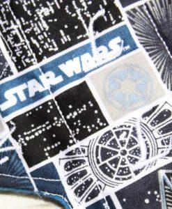 6″ Regular Flow cloth pad | Star Wars Tie Fighter Cotton | Blue Wind Pro Fleece | Sub 2