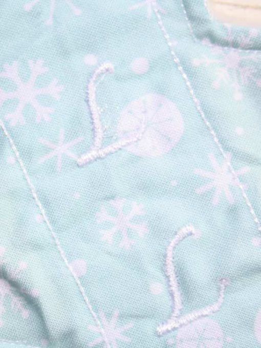 8-inch-Liner-cloth-menstrual-pad-Mint-Snowflakes-Cotton-and-Mint-Wind-Pro-Fleece-Luna-Landings-Slim-Sub_2