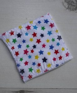Multicoloured Stars Make-up remover wipes – set of 5