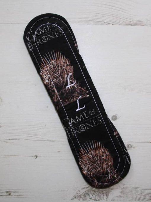 Cloth Pad Starter Set – 8″ Light flow | 2 x 10″ Regular flow | 12″ Heavy flow | 12″ Overnight | Game of Thrones