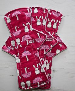 "Cloth Pad Starter Set - 12"" Regular flow x 2 