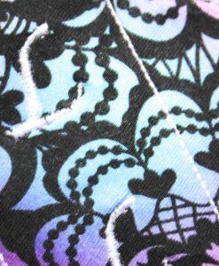 6″ Liner cloth pad   Opal Lace Cotton Jersey   White Polar Fleece   Luna Landings   Sub 2