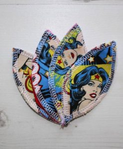 Wonder Woman Interlabial pads - set of 4