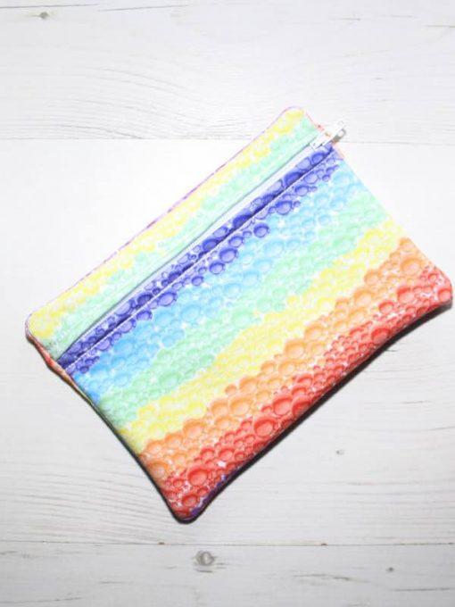 Rainbow Bubbles Small Wet Bag