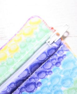 Rainbow Bubbles Small Wet Bag