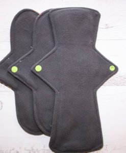 "Cloth Pad Starter Set - 10"" Regular flow x 2 | 12"" Heavy flow | Tea Rex"