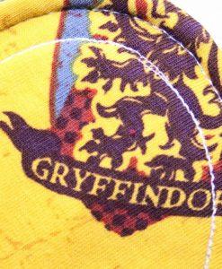 "10"" Light Flow cloth pad | Gryffindor House Cotton Jersey | Coyote Wind Pro Fleece | Luna Landings | Slim Sub"