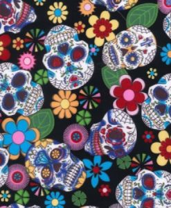 Day of the Dead Black Reusable Kitchen Roll
