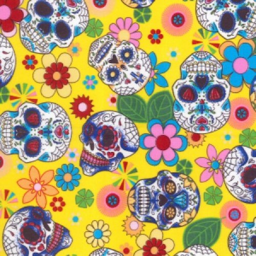 Day of the Dead Yellow