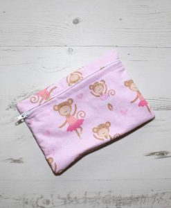 Ballerina Monkey Small Wet Bag