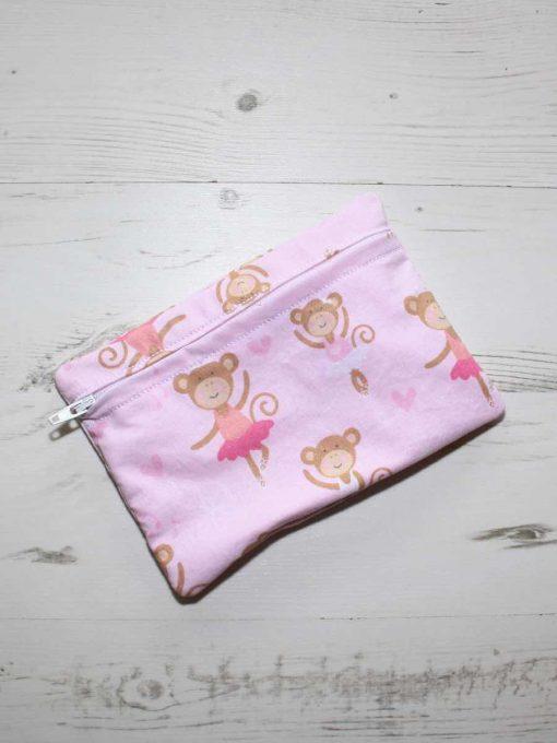 Ballerina Monkey Small Wet Bag