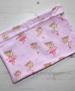 Ballerina Monkey Large Wet Bag