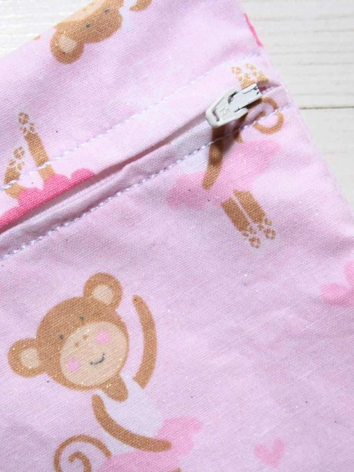 Ballerina Monkey Large Wet Bag