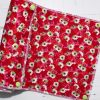 Daisies on Red – Reusable Kitchen Roll – Set of 6
