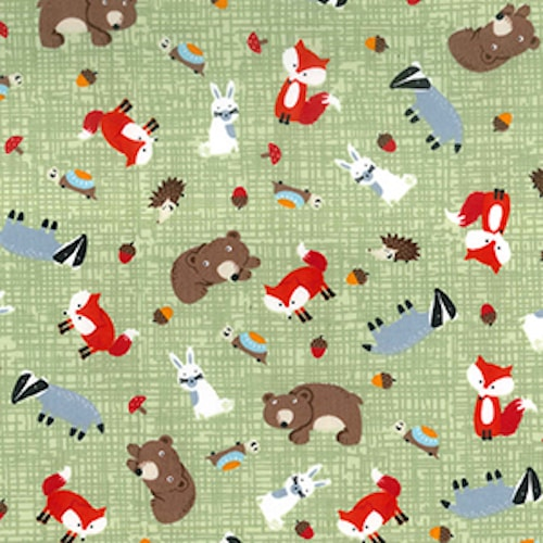 Forest Critters Reusable Kitchen Roll