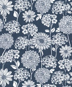 Chrysanthemums on Grey Reusable Kitchen Roll