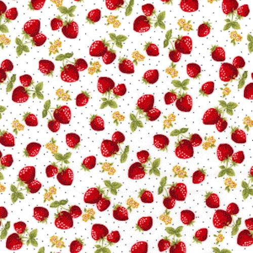 Strawberry-Patch-Cotton
