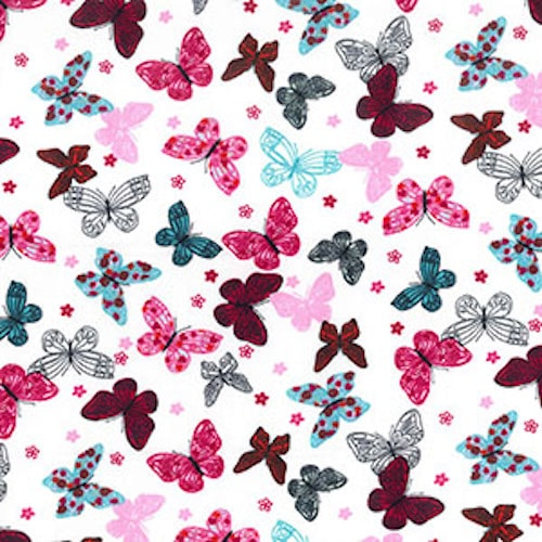 Vivid Butterflies Reusable Kitchen Roll