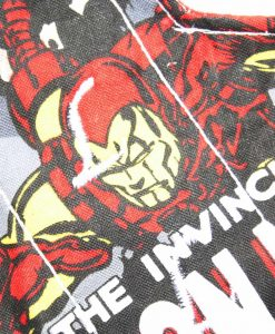 "6"" Light Flow cloth pad | Ironman Cotton | Red Wind Pro Fleece | Luna Landings | Sub"