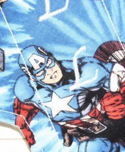 "8"" Light Flow cloth pad | Avengers Captain America Cotton | Cream Wind Pro Fleece | Luna Landings | Sub"
