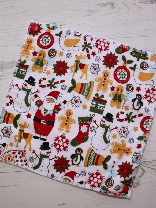 Chrimbo Combo – Reusable Kitchen Roll – Set of 6