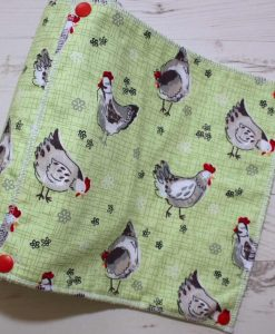 Chickens - Reusable Kitchen Roll - Set of 8