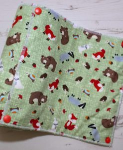 Forest Critters - Reusable Kitchen Roll - Set of 8