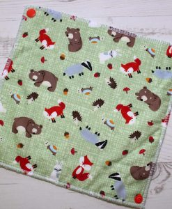 Forest Critters – Reusable Kitchen Roll – Set of 8