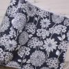 Chrysanthemums on Grey – Reusable Kitchen Roll – Set of 7