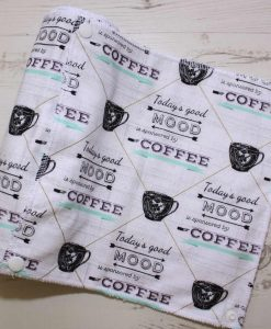 Coffee Buzz - Reusable Kitchen Roll - Set of 6