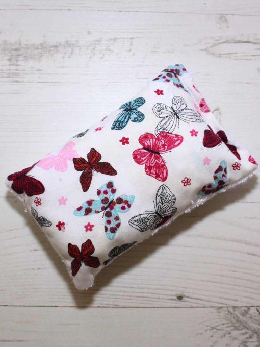 Colourful Butterflies Aqua - Reusable sponge